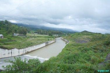 Khuga dam pictures spillway